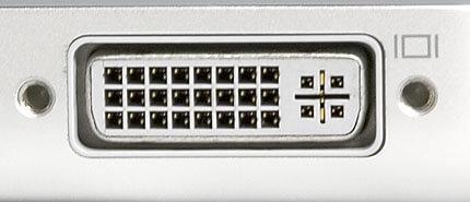 تصویری از یک درگاه DVI