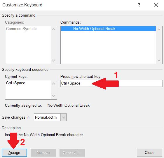 مایکروسافت ورد آفیس , آموزش تصویری درج نیمفاصله (فاصلهی مجازی) در وُرد, همیار آی تی