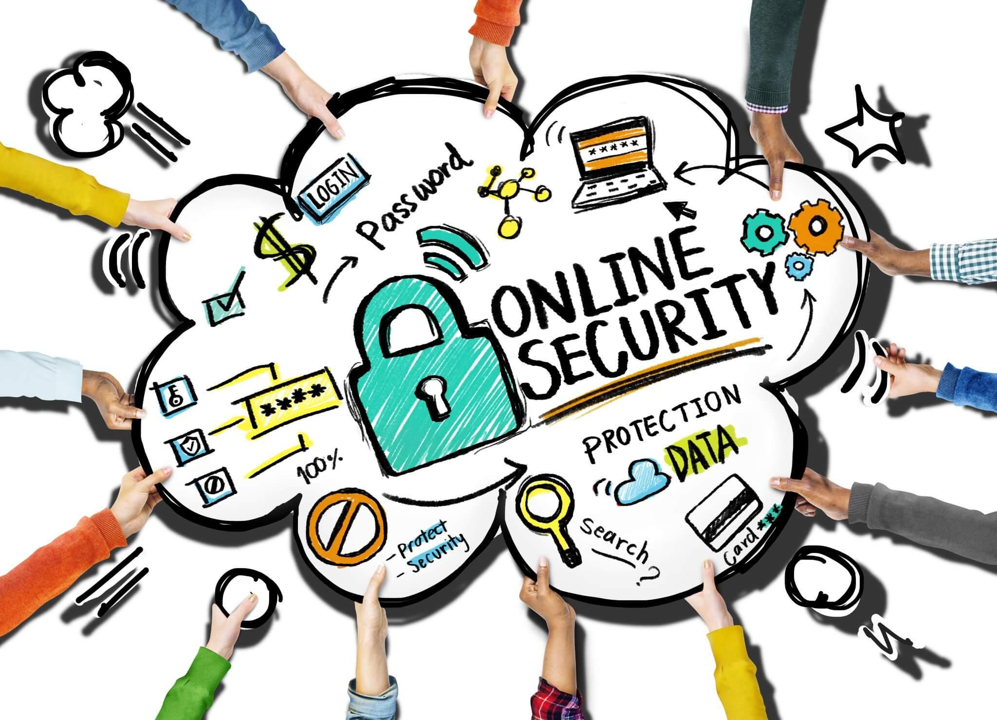 حفظ امنیت در فضای اینترنت