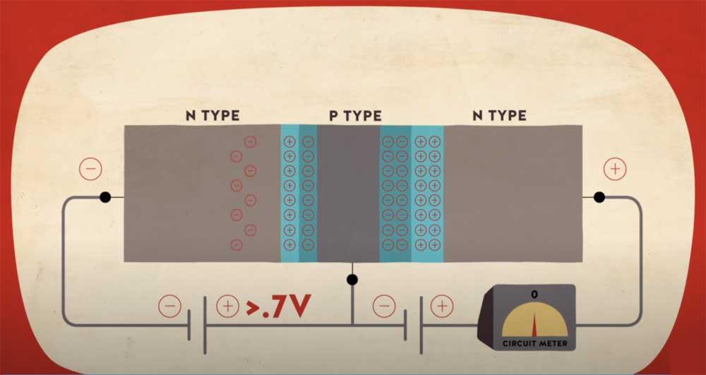 اراسل ولتاژ در ترانزیستور