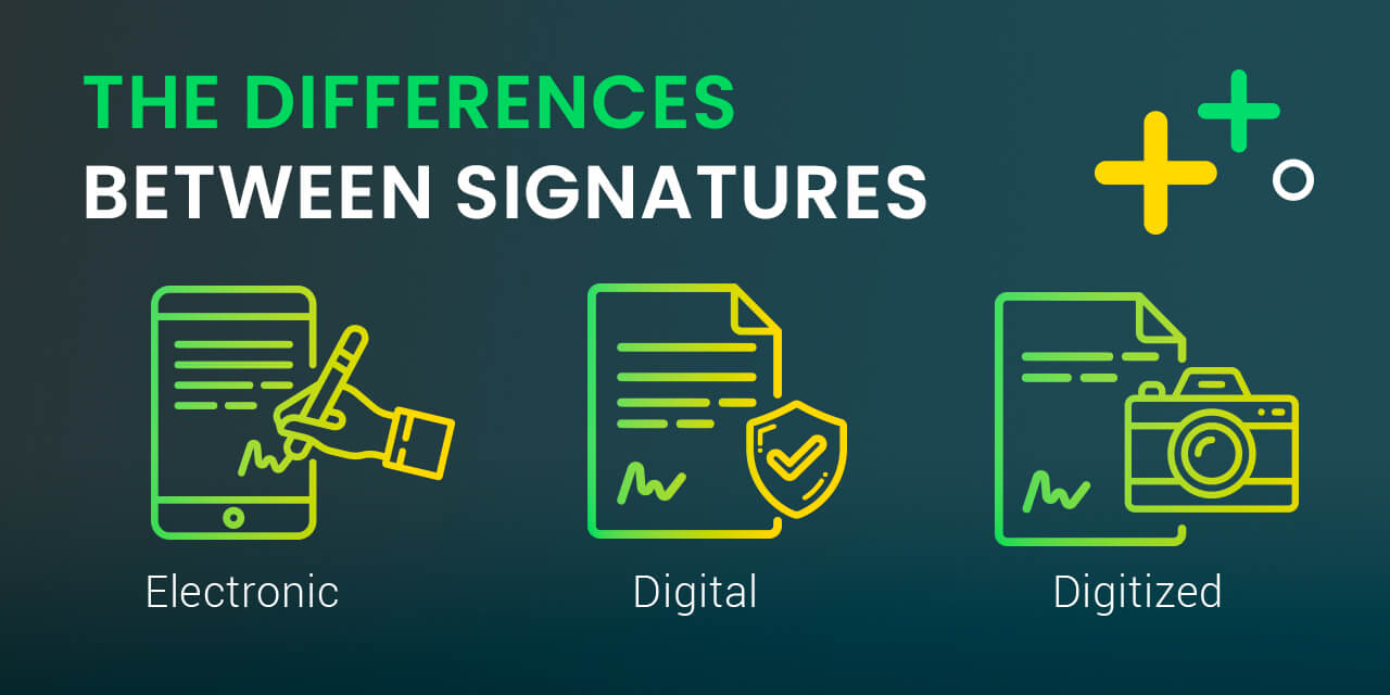 تفاوت امضای دیجیتال و امضای الکترونیک