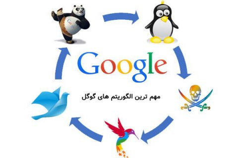 مهم ترین الگوریتم های گوگل و تاثیر آن در سئو و فروش سایت