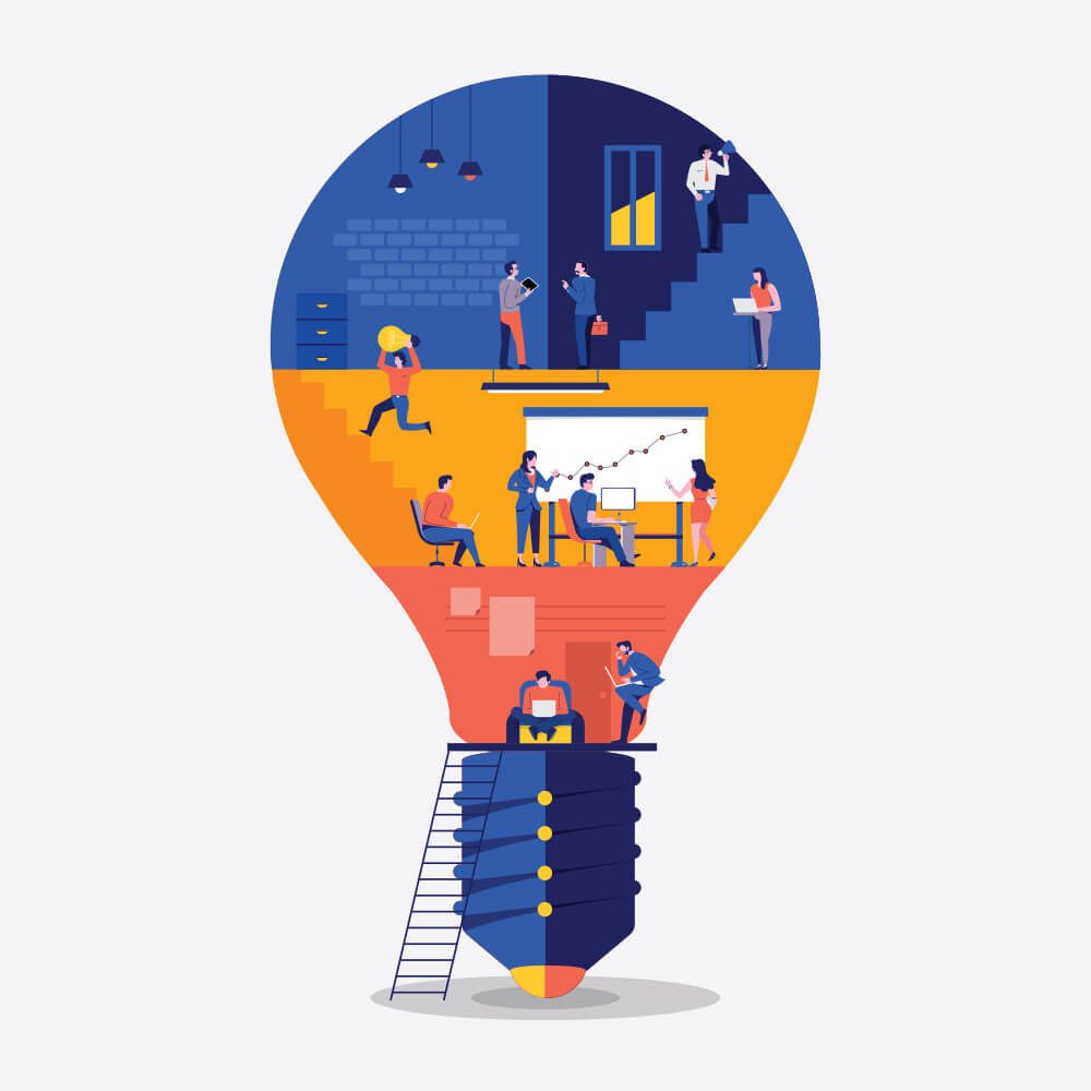 همهی پروژههای تحقیق و توسعه با ایده پردازی شروع میشوند