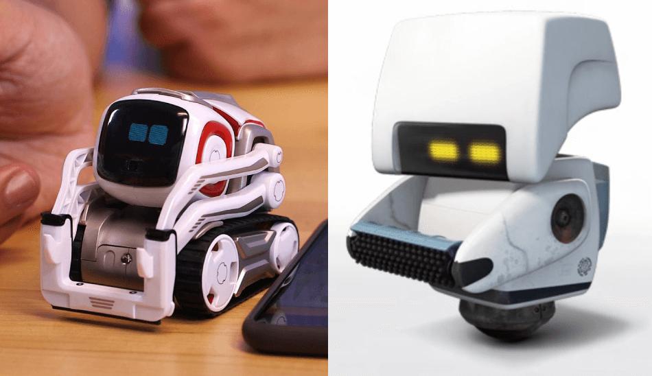 در طراحی کوزمو از یکی از رباتهای فیلم وال-ای الهام گرفته شده است.