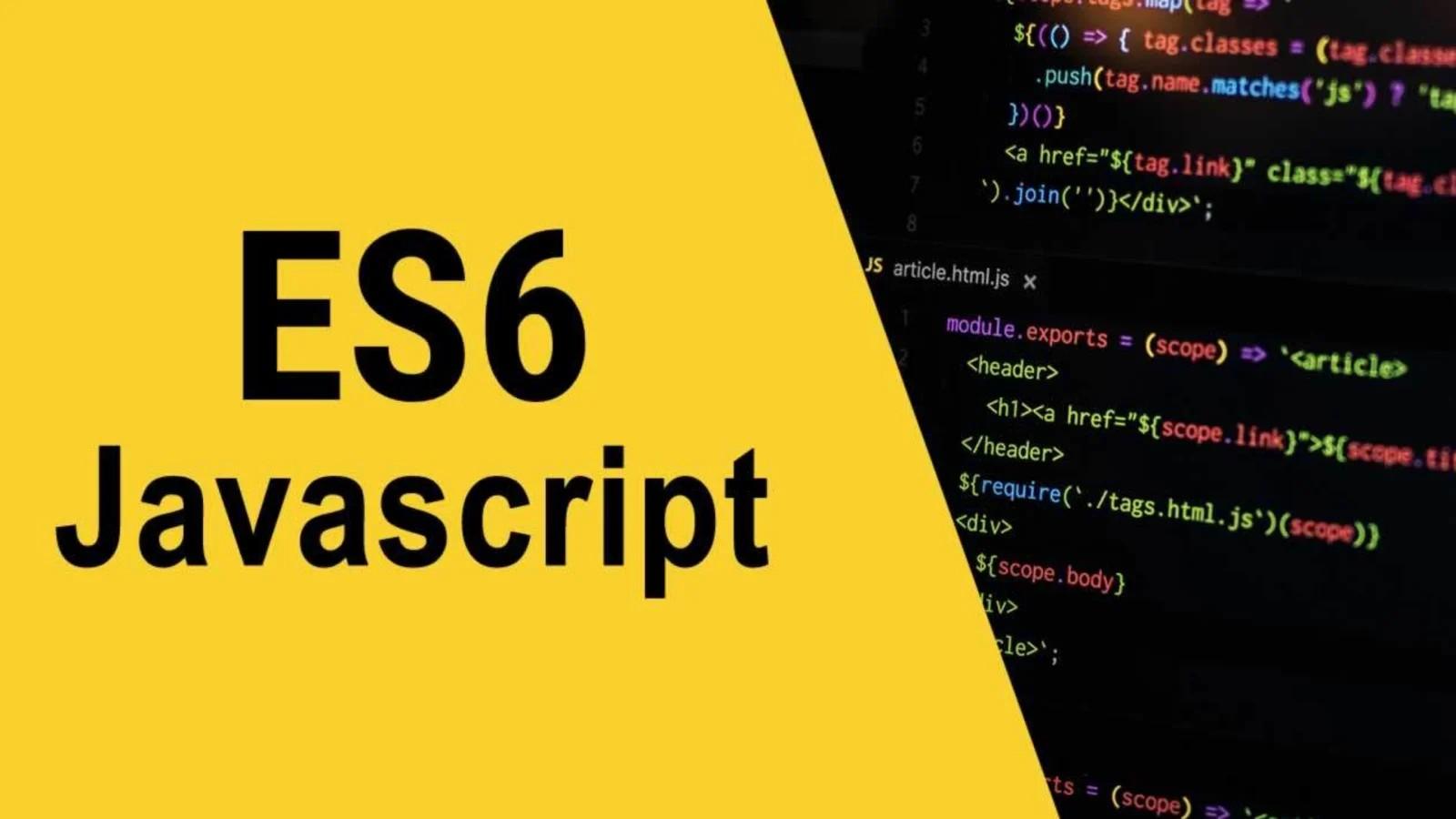 آشنایی با JavaScript ES6