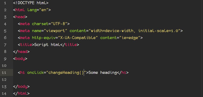 آموزش تعریف توابع جاوا اسکریپت در HTML