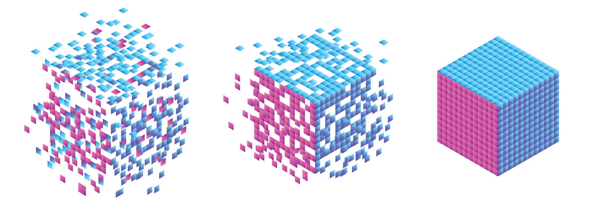 با قابلیت تشخیص الگو، سیستم بینایی ماشین میتواند الگوهای مشخصی را تشخیص دهد.